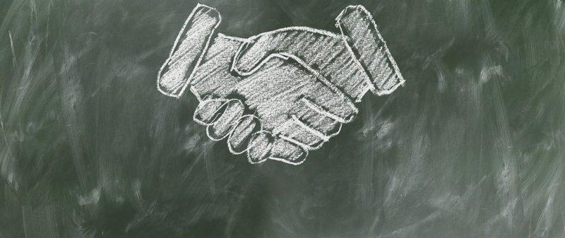 handen schudden | Een Blog Hout